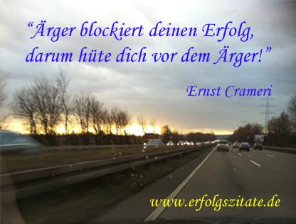 Ärger blockiert deinen Erfolg, darum hüte dich vor dem Ärger