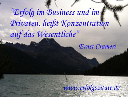Erfolg im Business und im Privaten, heißt Konzentration auf das Wesentliche